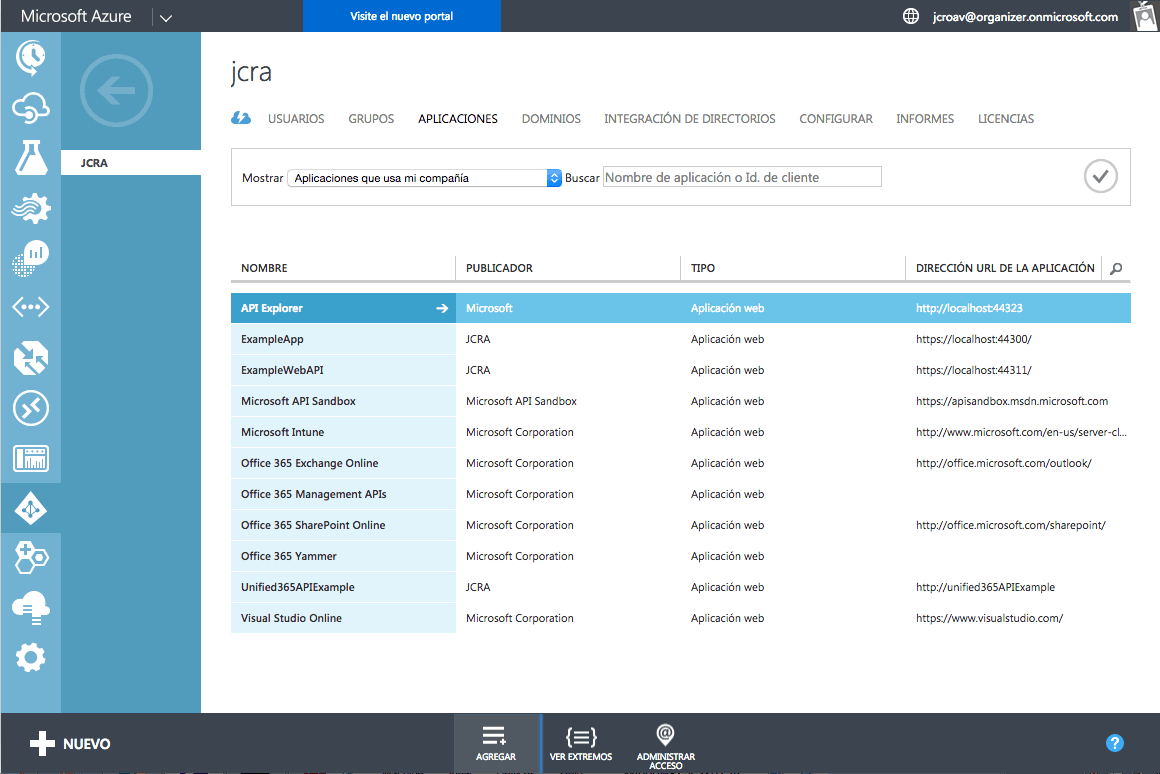 Refactorización de una aplicación a Microsoft Azure Apps